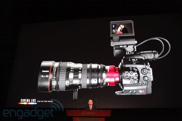 Bejelentette a Canon a forradalmi EOS C300 kamerát