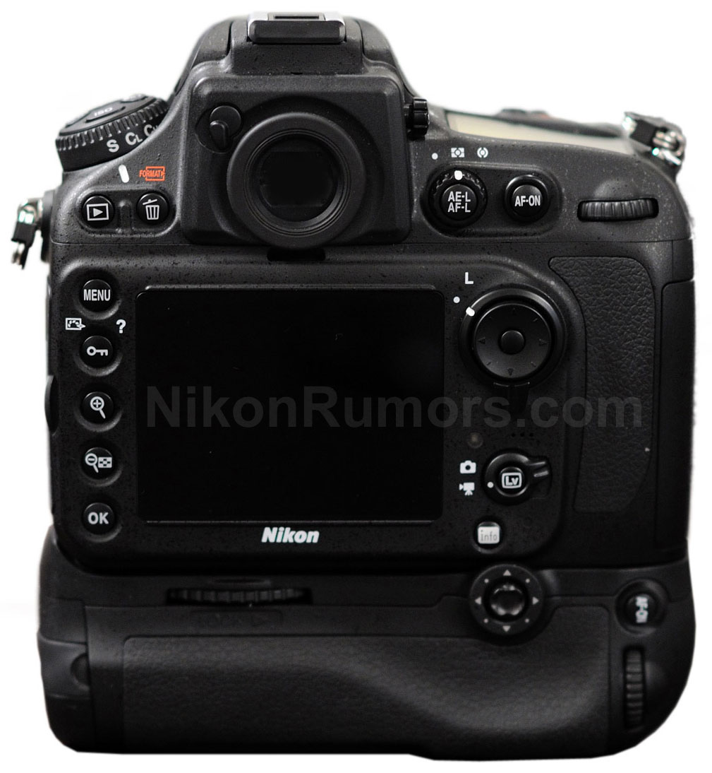 Nikon D800 specifikációk