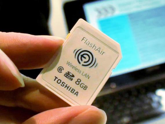 FlashAir SD kártya – lassan vége a kábeleknek