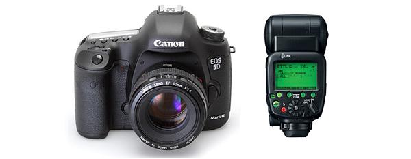 Íme a Canon EOS 5D Mark III és 600EX