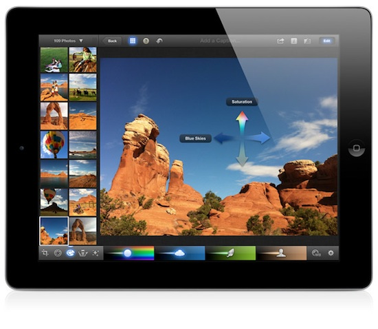Fotószerkesztés iPaden