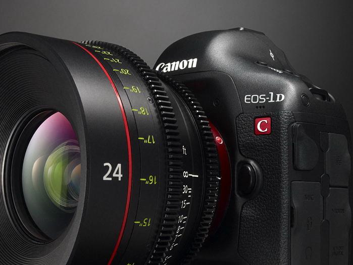Filmesek, itt a Canon EOS 1D C…