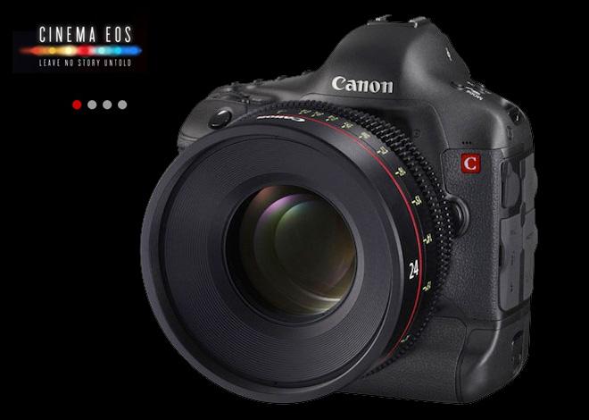 Bejelenti a Canon a két új C-EOS kamerát
