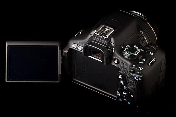 Érintőkijelző a Canon 650D-ben