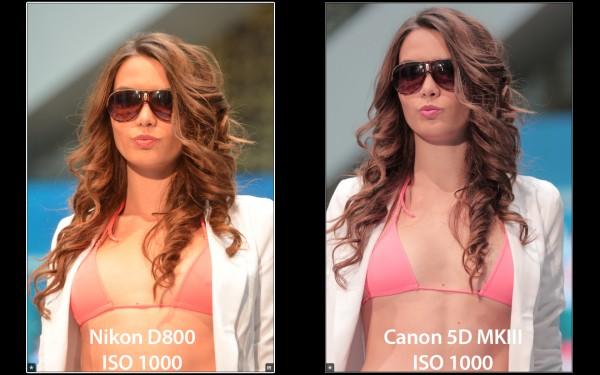 Canon 5DIII vs. Nikon D800 (Forrás: handras.hu)
