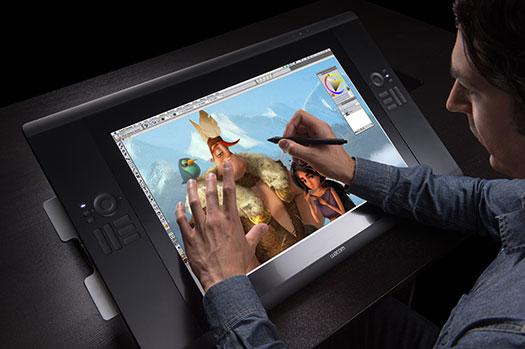 Fotósok, retusőrök álma: itt az új Wacom touch-screen tábla