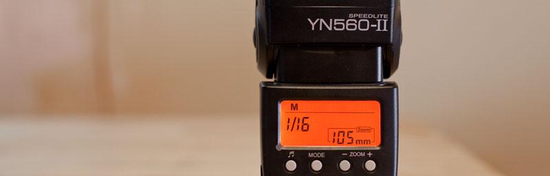 Teszt: Yongnuo YN-560 II manuális vaku