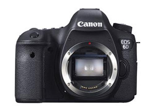 Bejelentették a Canon EOS 6D-t