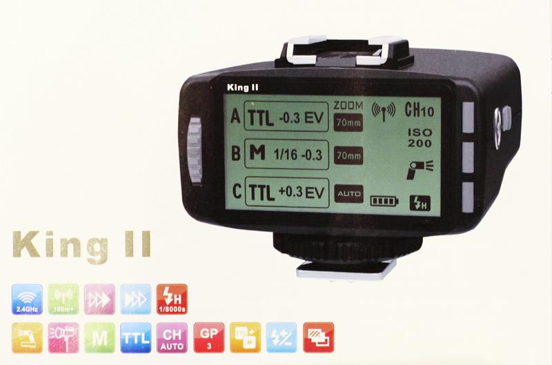 Bréking: Pixel King II TTL-képes rádiós kioldó