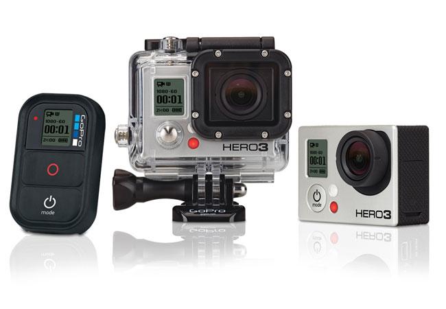 Bemutatták a GoPro Hero 3 kamerát