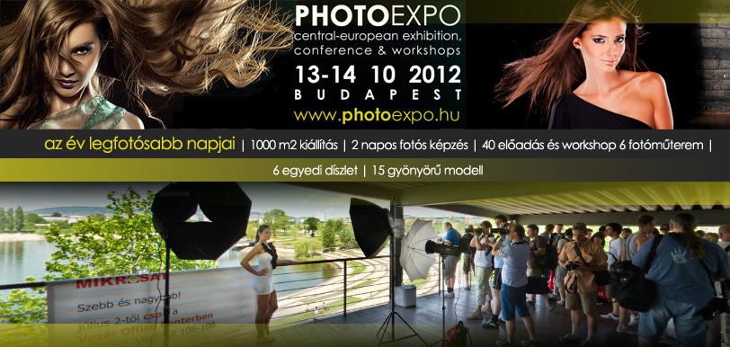 Programajánló hétvégére: PHOTOEXPO 2012