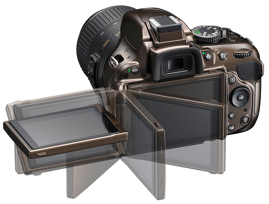 Itt a Nikon D5200 DSLR fényképezőgép
