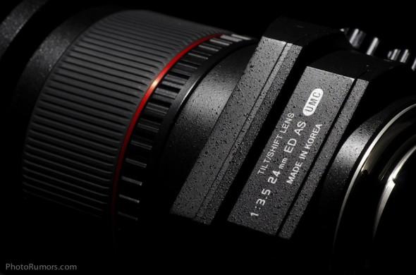 Beárazták a Samyang 24mm Tilt-Shift optikát