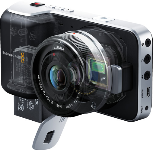 Pörög a NAB: Black Magic Pocket Cinema Camera, Sony 4K prototípusok