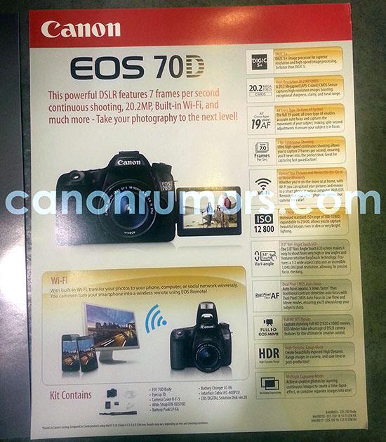 Íme a Canon 70D!