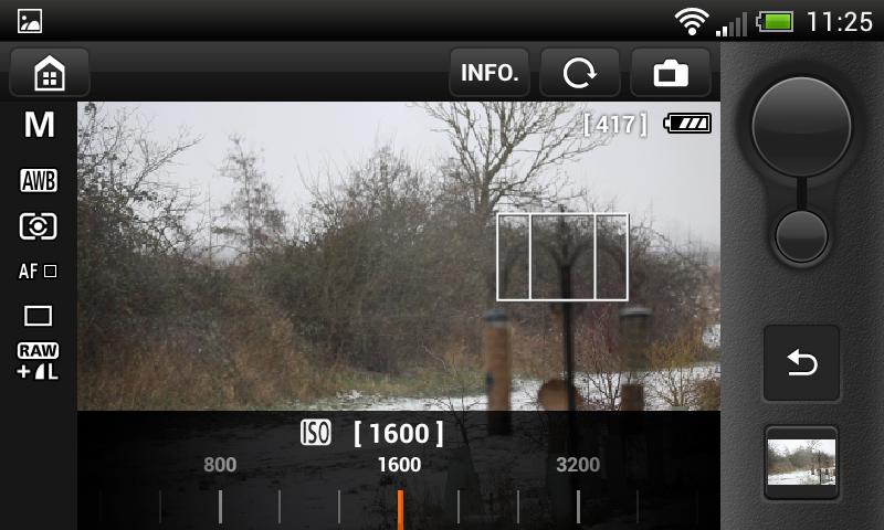 Canon EOS Remote app teszt