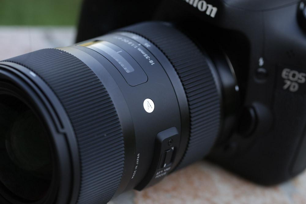 Teszt: Sigma 18-35mm f/1.8 DC HSM