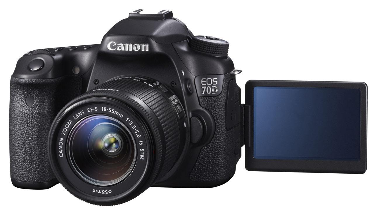 Immáron hivatalos a Canon EOS 70D