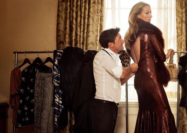Fotó: Bryan Adams-Michael J. Fox & Tatjana Patitz / Zeiss Calendar_2010