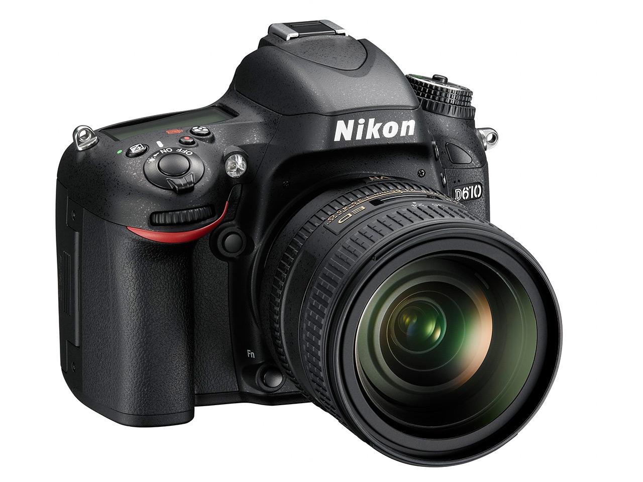 Bemutatták a Nikon D610 DSLR-t