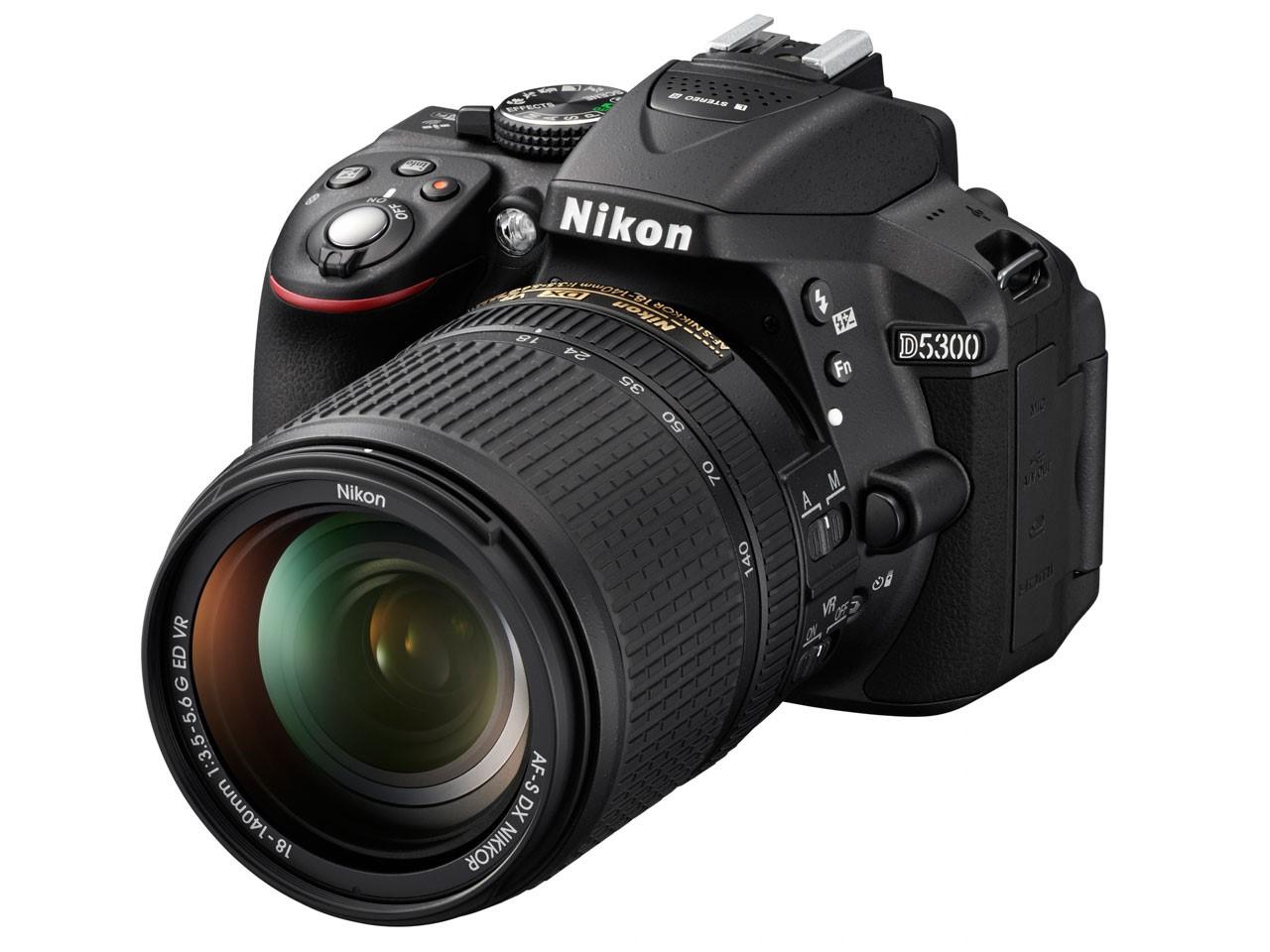 Még egy Nikon mára: itt a D5300!