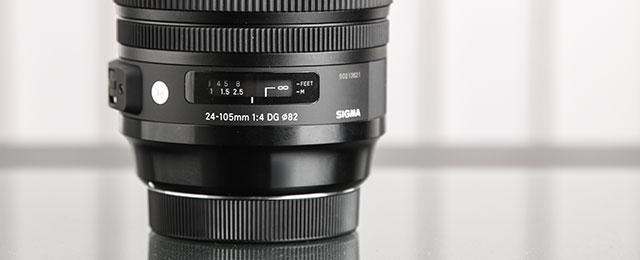Kézben a Sigma 24-105mm f/4 OS HSM Art