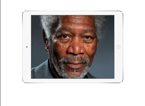Egy Morgan Freeman fotó