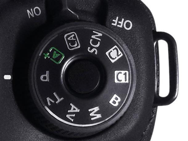 """Canon 6D """"Custom"""" mód anomália"""