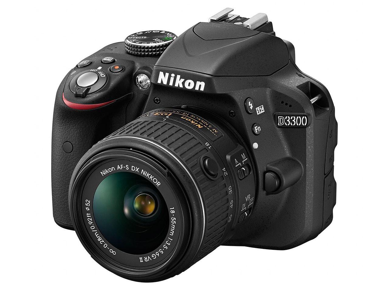 Bemutatták a Nikon D3300-at új kitobjektívvel és a Nikon 35mm-es nagylátóját