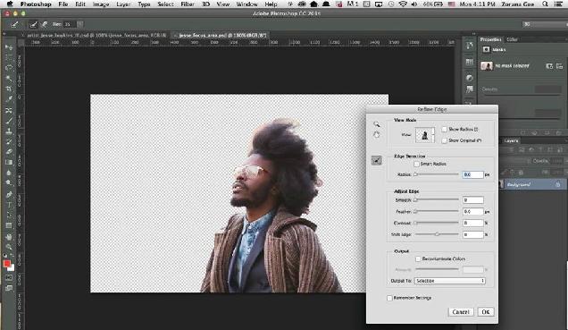 Új kijelöléstípus a Photoshop CC-ben: Focus Area