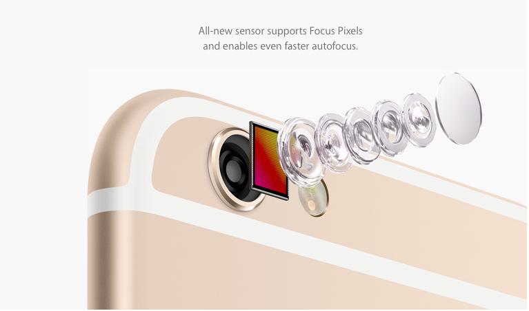 Frissült a világ legnépszerűbb fényképezőgépe, itt az iPhone 6