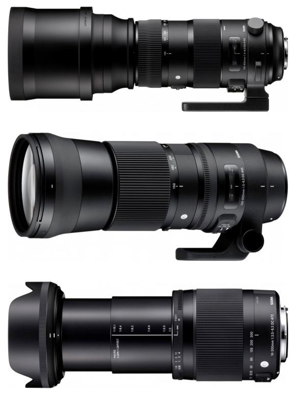 Nikon 20mm f/1.8G, Sigma 18-300, Sigma 150-600 objektívek is érkeznek