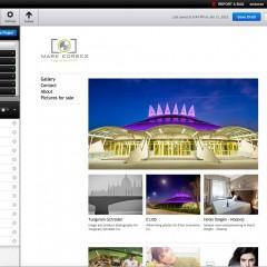 Ingyenes portfólió weboldal a Photoshop előfizetéshez