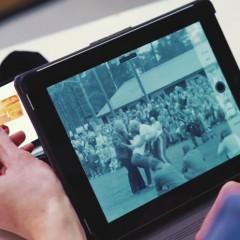 Filmnézegető tablettel