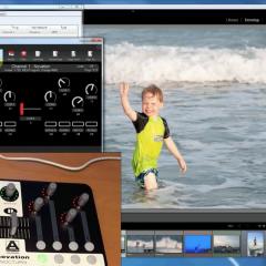 Lightroom munka MIDI controllerrel