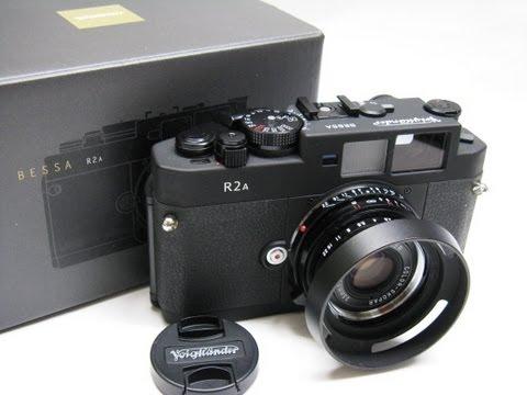 Voigtländer Bessa R2A filmes távmérős fényképezőgép