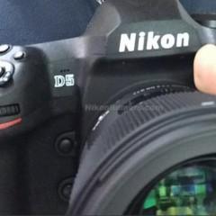 Nikon D5 kémfotók