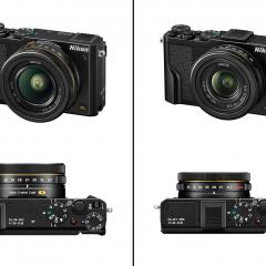 Új pro-kompakt gépeket mutatott be a Nikon
