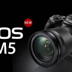 Részletes bemutató: Canon EOS M5 mirrorless