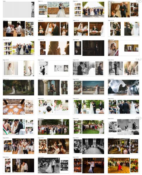 Irányelvek mentén automatikusan generált fotókönyv