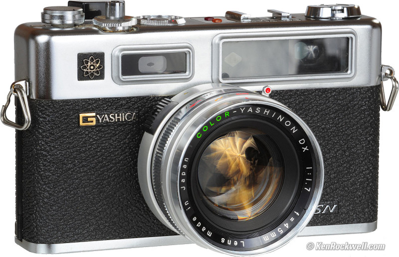 Yashica Electro 35 GSN (Forrás: kenrockwell.com)