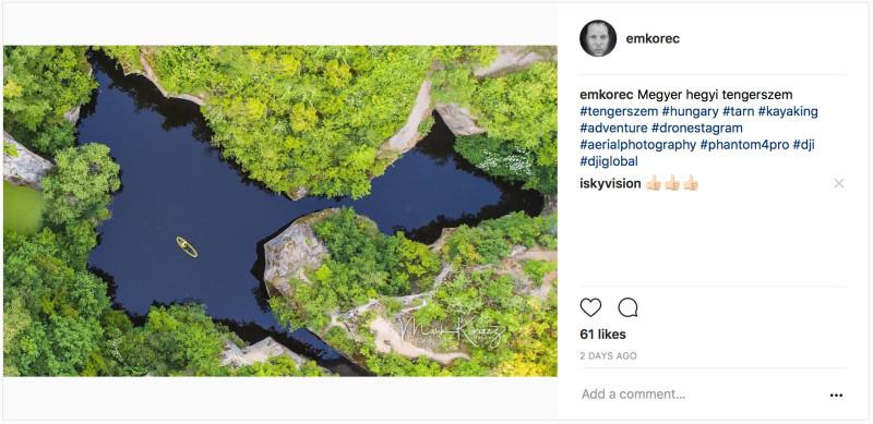 Egy nem túl szerencsésen tálalt Instagram poszt tőlem