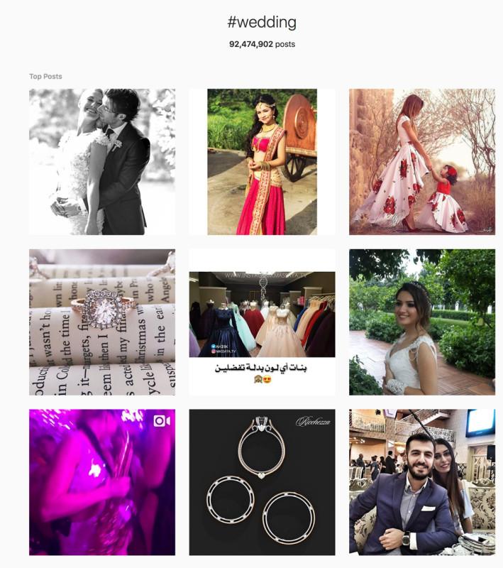 Wedding hashtag: 92 millió találat. Itt akarsz érvényesülni?