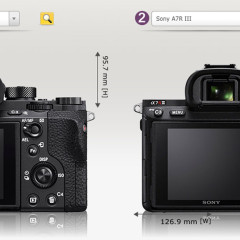 Sony A7R III multishot, 4K, eye-AF demonstráció