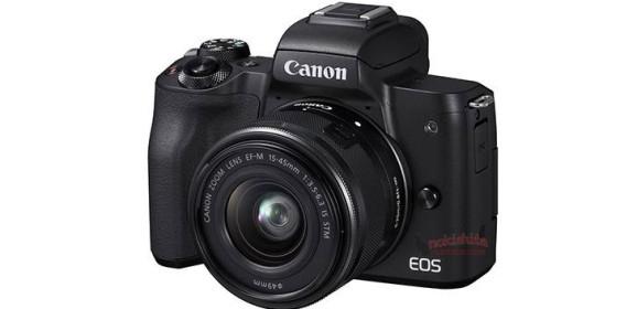 Ilyen lesz a Canon EOS M50 kamera, és a 470EX AI vaku
