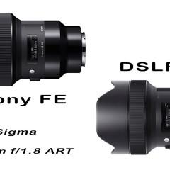 9db Sigma ART objektív érkezik Sony E-bajonettre!