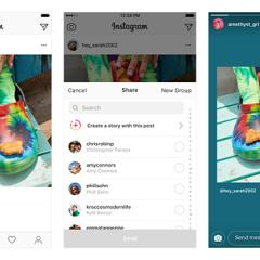Megosztás érkezett az Instagramba
