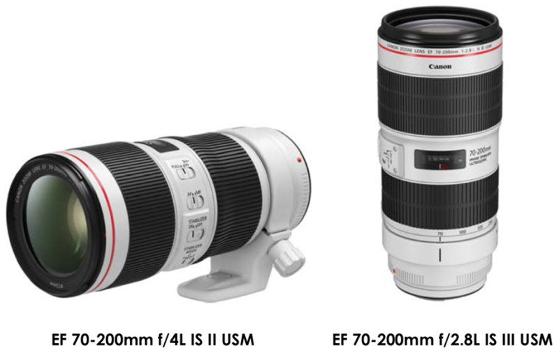 Canon-EF-70-200mm-f4L-IS-II-USM-and-EF-70-200mm-f2.8L-IS-III-USM-lenses