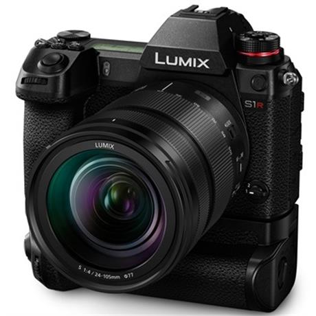 Lumix S1R opcionális portrémarkolattal