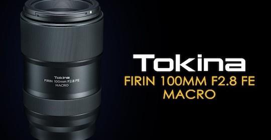 Megjelent a Tokina FiRIN 100/2.8 Macro autofókusszal Sonyra